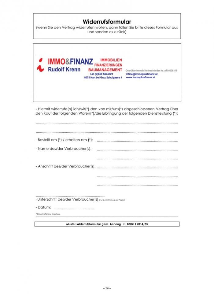 muster maklervertrag verkauf immobilie